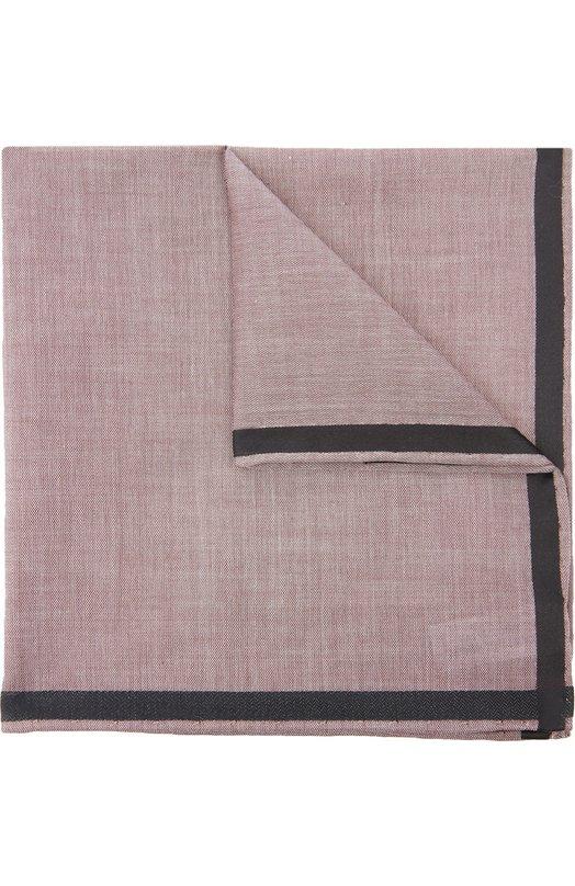 Хлопковый носовой платок с контрастным кантом Simonnot-Godard