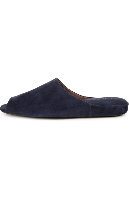 Замшевые домашние туфли с открытым мысом Homers At Home 18018/ANTE