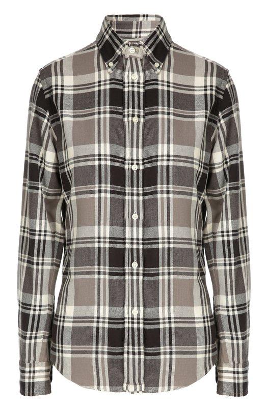 Клетчатая рубашка из хлопка Polo Ralph Lauren