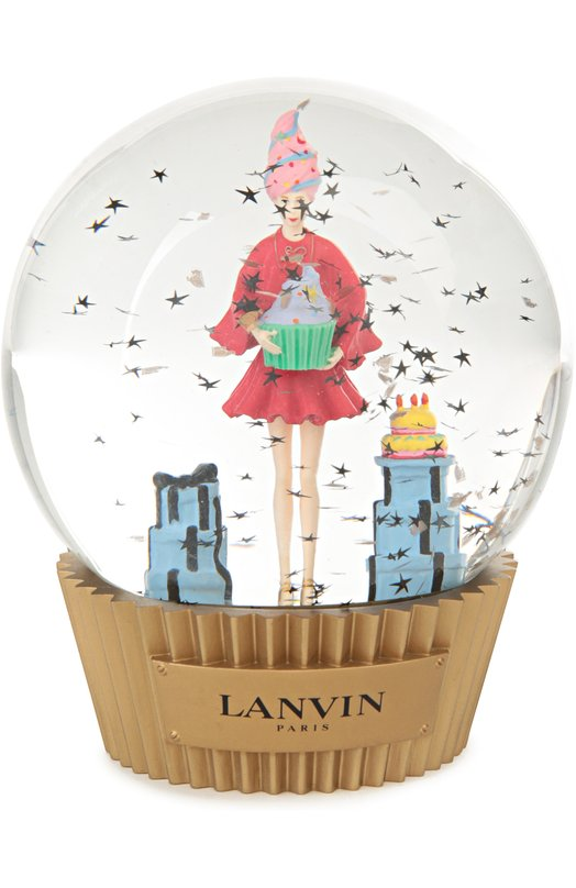 Стеклянный шар на подставке с фигурой внутри Lanvin AU-SISNWB-GLAS-P16