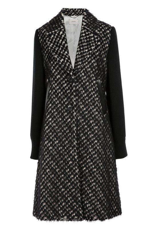 Пальто прямого кроя с широкими лацканами Dorothee Schumacher 241501