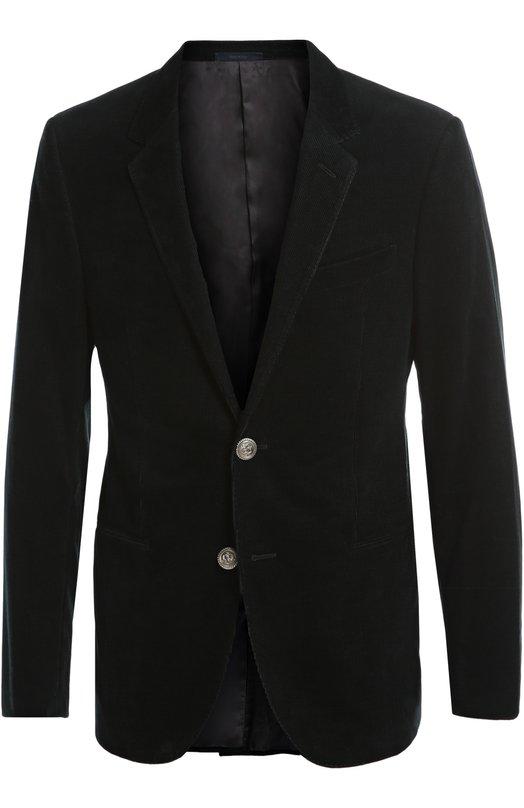 Однобортный пиджак из вельвета Lanvin RMJA0098-M00500A16