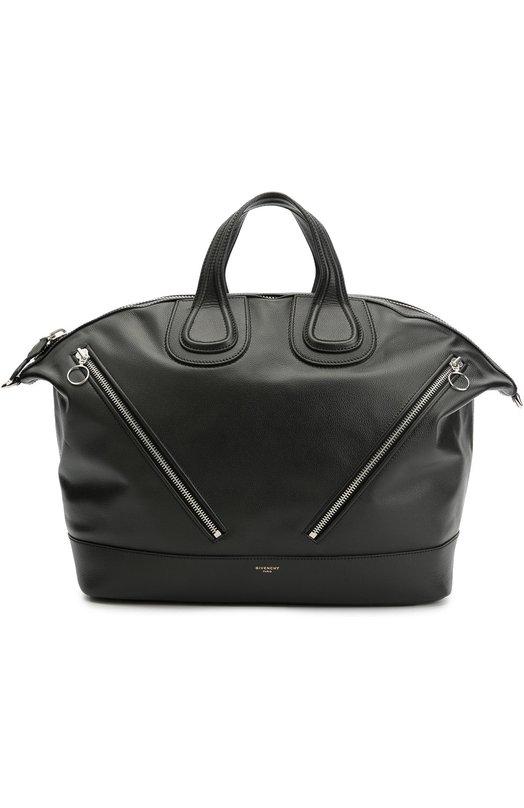 Кожаная дорожная сумка Nightingale с плечевым ремнем Givenchy BJ0/5026/097