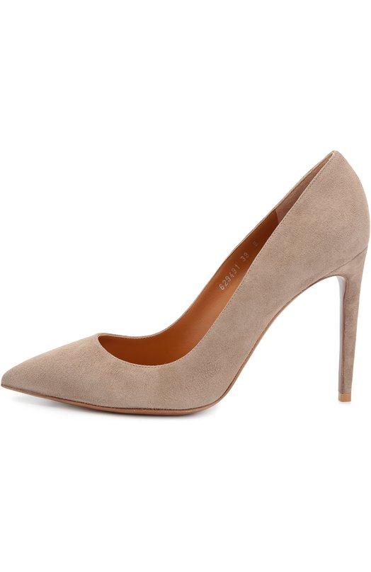 Замшевые туфли на шпильке Ralph Lauren 858/CELI6/R0262