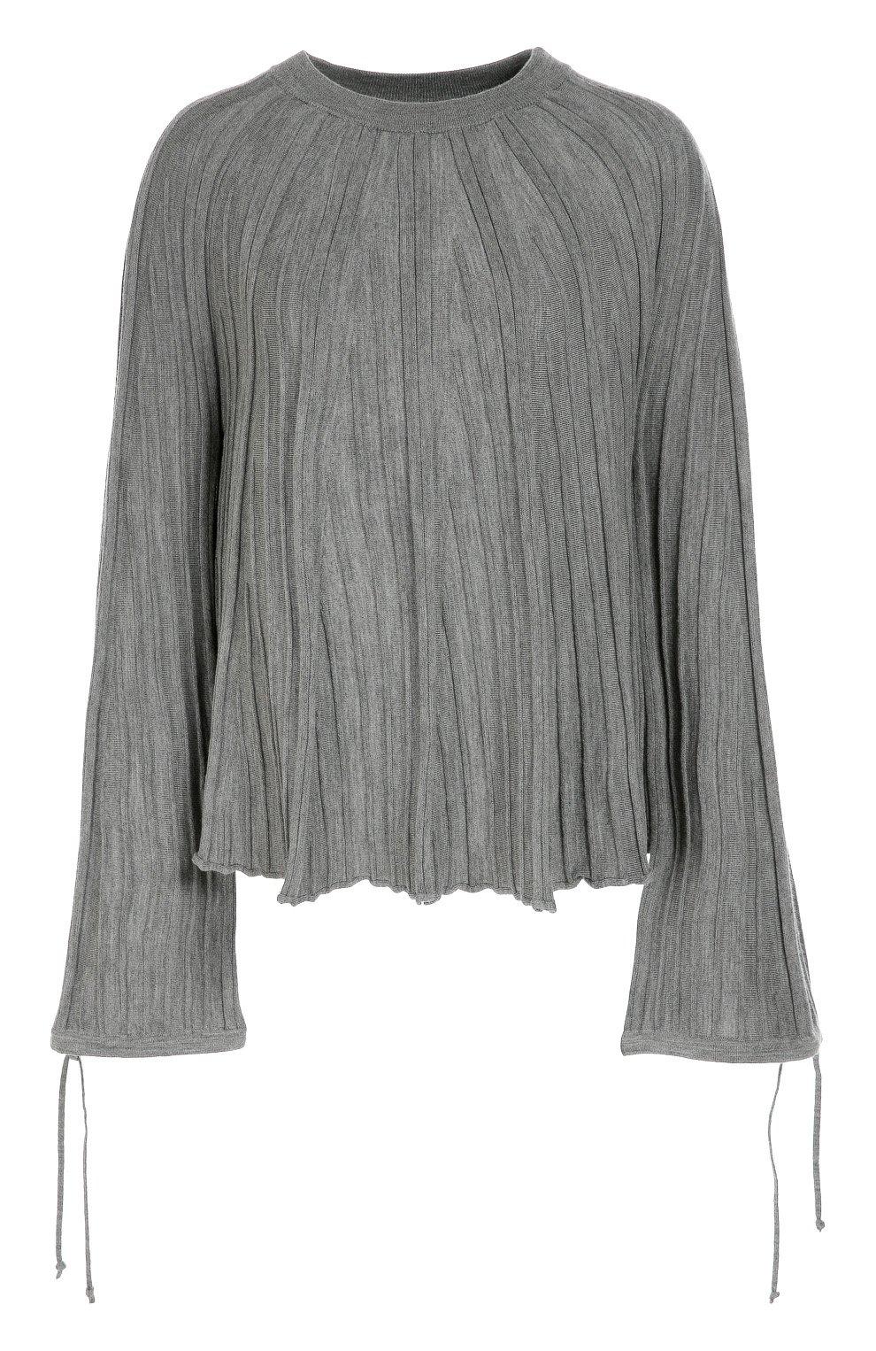 Пуловер с широкими рукавами с доставкой