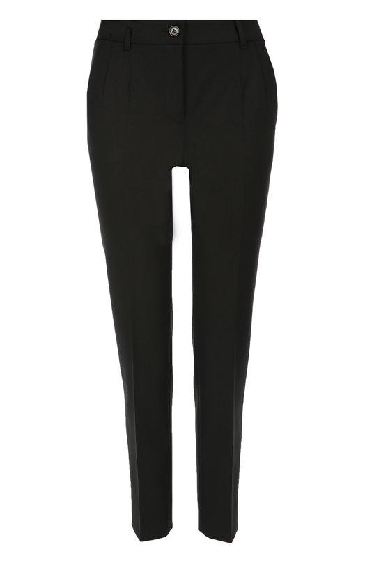 Укороченные брюки прямого кроя с карманами Dolce & Gabbana 0102/FTAMUT/FUCCS