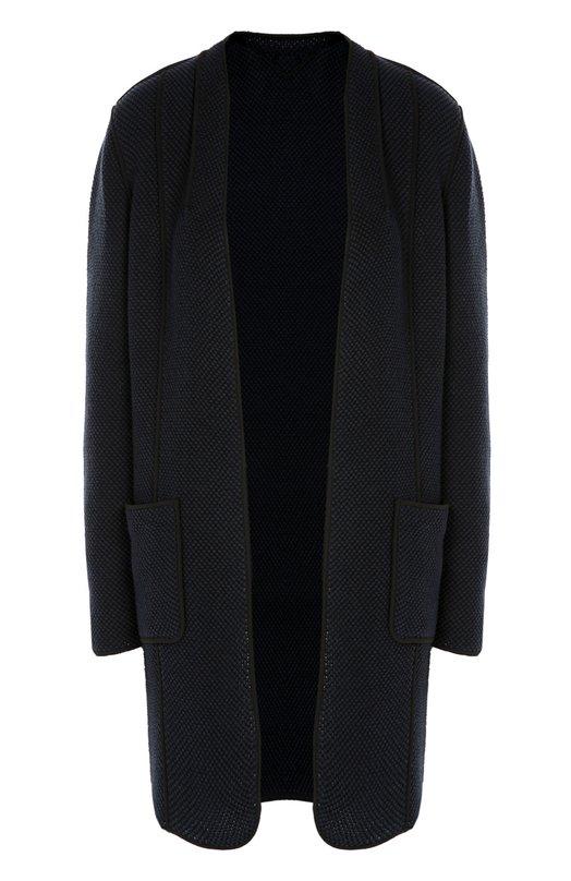 Пальто прямого кроя с накладными карманами Elie Tahari E700F406