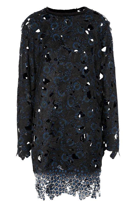 Кружевное пальто прямого кроя Elie Tahari E7038406