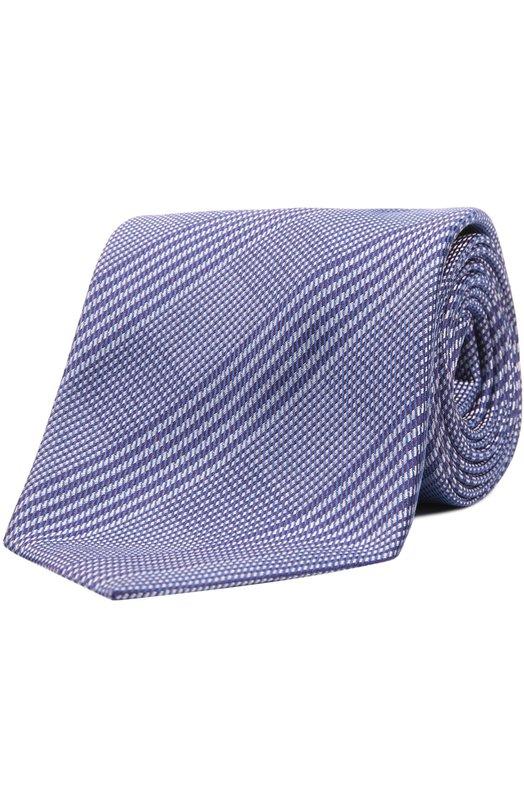 Шелковый галстук в полоску Brioni 063I/P4495