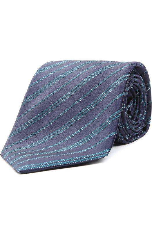 Шелковый галстук в полоску Brioni 063I/P440S