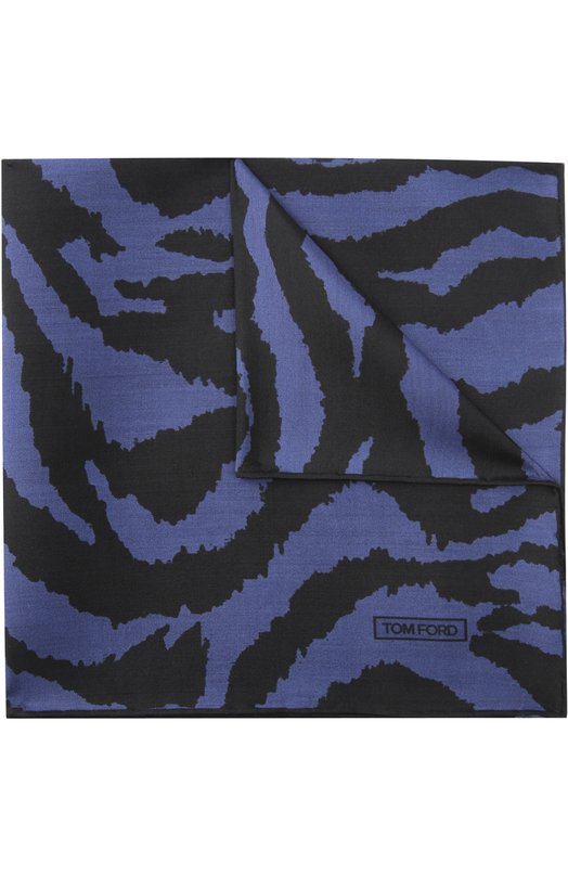 Шелковый платок с анималистичным принтом Tom Ford