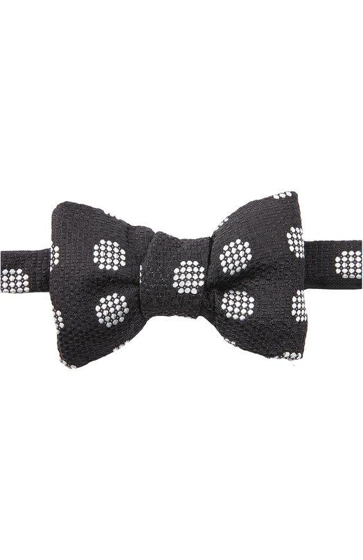Шелковый галстук-бабочка с узором Tom Ford TFA274CH