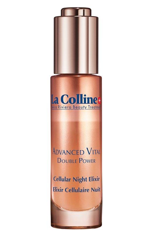 Ночной эликсир для лица с клеточным комплексом Cellular Advanced Night Elixir La Colline 8036N/LC