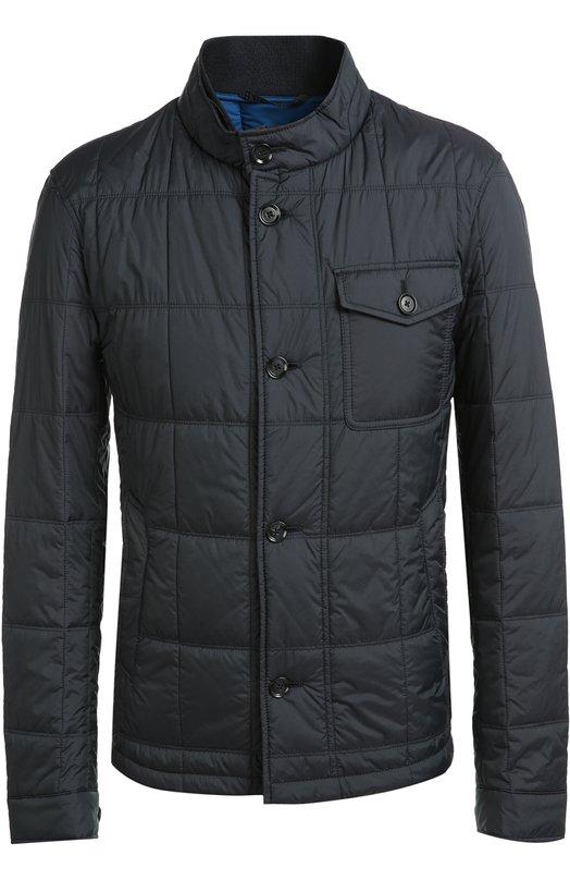 Стеганая куртка с накладным нагрудным карманом BOSS 50320405