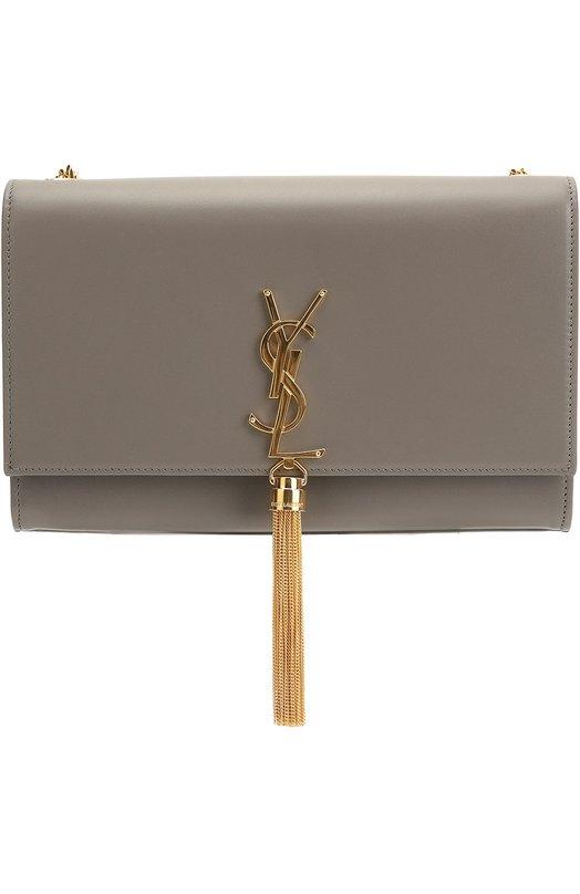 Купить Сумка Monogram Kate medium Saint Laurent, 354119/C150J, Италия, Серый, Кожа натуральная: 100%;