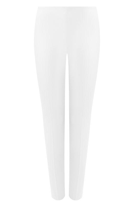 Укороченные шерстяные брюки-скинни Ralph LaurenБрюки<br>&amp;bull; Москва 477 EUR (33 400 RUB)&amp;bull; Милан 530 EUR&amp;bull; Лондон 556 EUR (500 GBP)&amp;bull; Дубай 607 EUR (2 460 AED)Ральф Лорен включил укороченные брюки Annie в осенне-зимнюю коллекцию 2016 года. Для создания модели slim fit использована мягкая шерсть стрейч кремового цвета. Подкладка выполнена из эластичного шелка в тон основному материалу. Советуем носить с белым джемпером, а также серыми лоферами и клатчем.<br><br>Российский размер RU: 42<br>Пол: Женский<br>Возраст: Взрослый<br>Размер производителя vendor: 4<br>Материал: Шерсть: 96%; Подкладка-шелк: 91%; Подкладка-эластан: 9%; Эластан: 4%;<br>Цвет: Кремовый