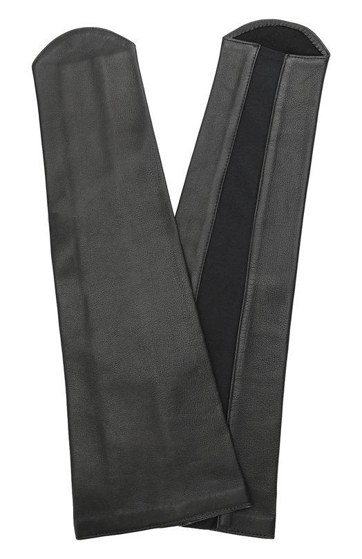 Кожаные перчатки-манжеты без пальцев Agnelle MANCHEL/A