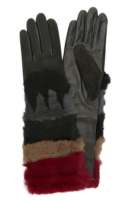Кожаные перчатки с отделкой из меха кролика и замши AgnelleПерчатки<br>В коллекцию сезона осень-зима 2016 года вошли удлиненные перчатки, декорированные широкими вставками из меха кролика пяти цветов: бордового, бежевого, графитового, светло-серого и черного. При создании модели использована комбинация прочной замши (для лицевой стороны) и мягкой кожи (для тыльной).<br><br>Российский размер RU: 7<br>Пол: Женский<br>Возраст: Взрослый<br>Размер производителя vendor: 7-5<br>Материал: Кожа натуральная: 60%; Мех/кролик/: 30%; Подкладка-шерсть альпака: 100%; Замша натуральная: 10%;<br>Цвет: Бордовый
