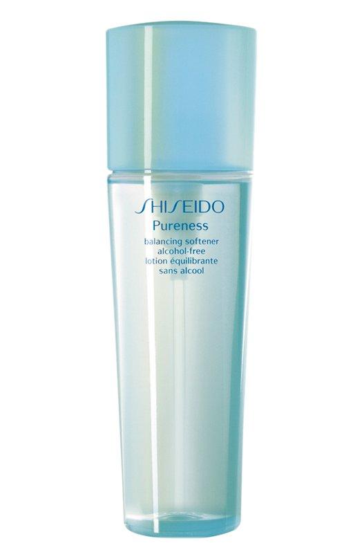Освежающая очищающая вода Pureness без содержания масел и спирта ShiseidoОчищение / Эксфолиация<br><br><br>Объем мл: 150<br>Пол: Женский<br>Возраст: Взрослый<br>Цвет: Бесцветный