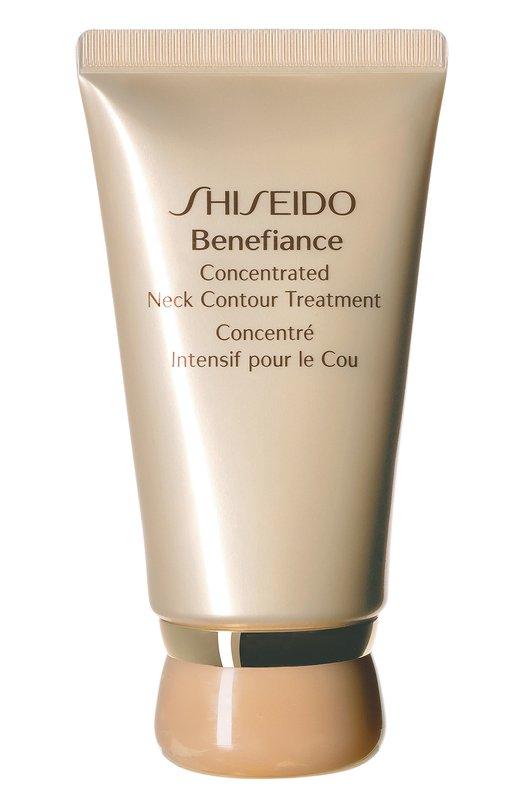 Купить Концентрированный крем Benefiance для ухода за кожей шеи Shiseido, 19106SH, Япония, Бесцветный