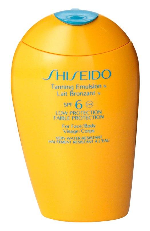 Купить Эмульсия для загара c SPF 6 Shiseido, 12611SH, Япония, Бесцветный