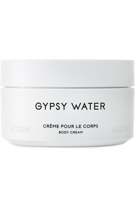 Крем для тела Gipsy Water ByredoУвлажнение / Питание<br><br><br>Объем мл: 200<br>Пол: Женский<br>Возраст: Взрослый<br>Цвет: Бесцветный