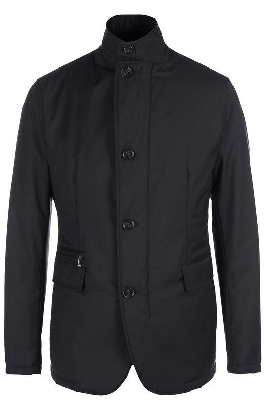 Шерстяная куртка с утепленной подстежкой BOSS 50322080