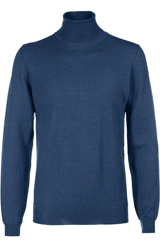 Водолазка из шерсти тонкой вязки HUGO BOSS Black LabelСвитеры<br><br><br>Российский размер RU: 50<br>Пол: Мужской<br>Возраст: Взрослый<br>Размер производителя vendor: L<br>Материал: Шерсть: 100%;<br>Цвет: Синий