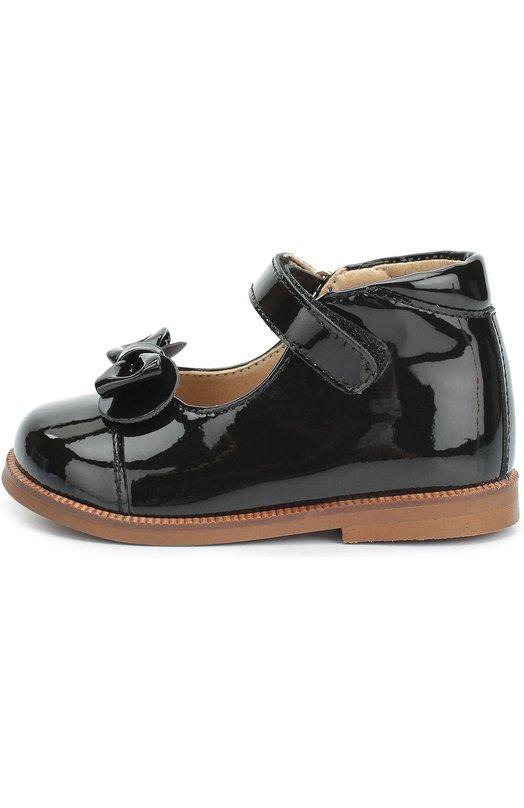 Лаковые туфли с бантом Clarys 1381/0DE0N/18-20