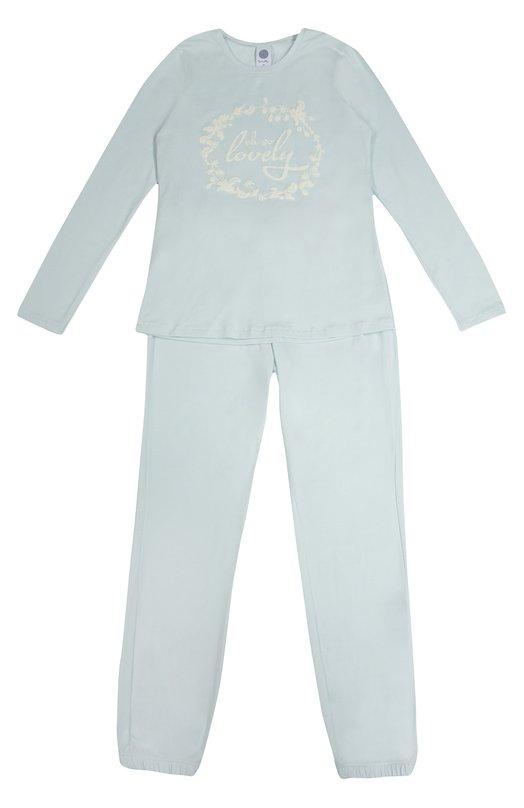 Пижама с фактурной отделкой Sanetta 243678