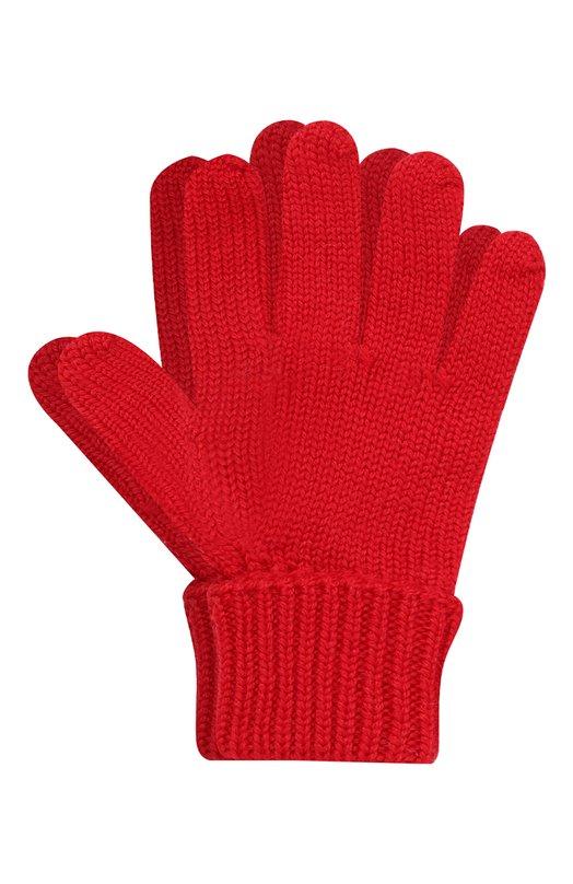 Вязаные перчатки из шерсти Il Trenino 16 5059/E2