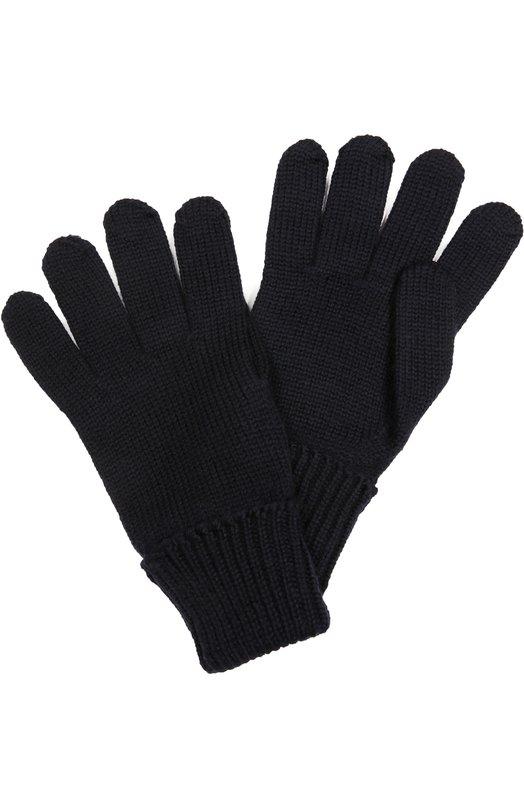 Перчатки из шерсти с отворотами Il TreninoПерчатки<br>Темно-синие перчатки чулочной вязки выполнены из тонкой и мягкой шерсти мериноса, не вызывающей аллергию. На запястьях — широкие эластичные отвороты, связанные в технике английской резинки. Аксессуар вошел в осенне-зимнюю коллекцию 2016 года.<br><br>Размер Years: 8-16<br>Пол: Женский<br>Возраст: Детский<br>Размер производителя vendor: III<br>Материал: Шерсть: 100%;<br>Цвет: Темно-синий