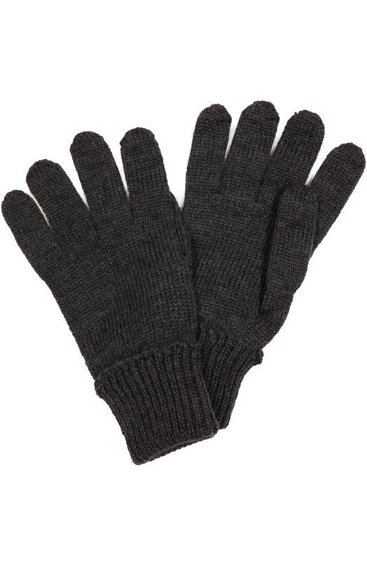 Перчатки из шерсти с отворотами Il TreninoПерчатки<br>В коллекцию сезона осень-зима 2016 года вошли темно-серые перчатки чулочной вязки. Для создания аксессуара была использована тонкая пряжа из шерсти мериноса, отмеченной международным сертификатом качества Woolmark, что гарантирует высокие стандарты производства. На запястье — широкие отвороты.<br><br>Размер Years: 6-8<br>Пол: Женский<br>Возраст: Детский<br>Размер производителя vendor: II<br>Материал: Шерсть: 100%;<br>Цвет: Темно-серый