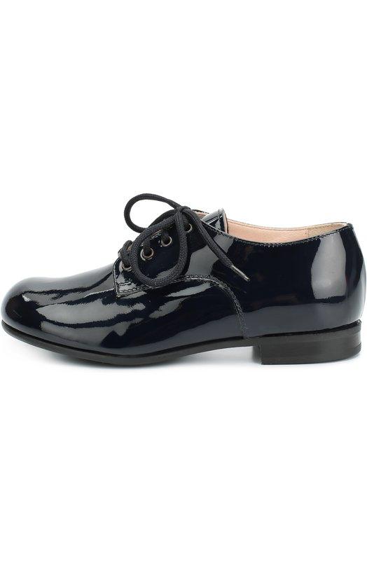 Лаковые туфли на шнуровке Il Gufo G267/PATENT LEATHER/27-30/VERNICE