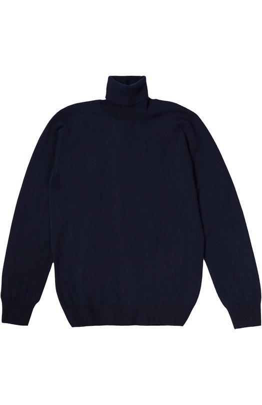 Водолазка из кашемира тонкой вязки Kuxo CashmereВодолазки<br>В осенне-зимнюю коллекцию 2016 года вошла синяя водолазка с длинными рукавами, связанная из тонкогои мягкого кашемира. Пояс, манжеты и высокий воротник связаны в технике английской резинки. Одежда может стать основой школьного образа.<br><br>Размер Years: 16<br>Пол: Мужской<br>Возраст: Детский<br>Размер производителя vendor: 164cm<br>Материал: Кашемир: 100%;<br>Цвет: Синий