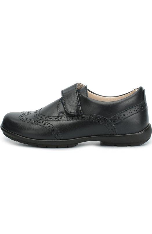 Кожаные туфли с перфорацией Beberlis 17835-W16-A/28-30