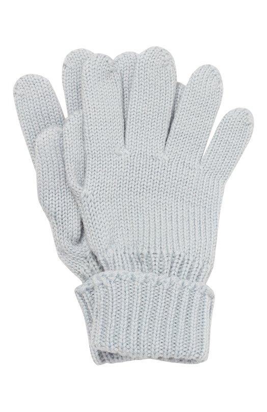 Перчатки из шерсти с отворотами Il TreninoПерчатки<br>Голубые перчатки средней длины, с широкими эластичными отворотами вошли в коллекцию сезона осень-зима 2016 года. Мастера марки выполнили модель в технике лицевой вязки из гипоаллергенной шерстяной пряжи, которая пропускает воздух и сохраняет тепло, поэтому в таком аксессуаре руки не будут потеть.<br><br>Размер Years: 8-16<br>Пол: Женский<br>Возраст: Детский<br>Размер производителя vendor: III<br>Материал: Шерсть: 100%;<br>Цвет: Голубой