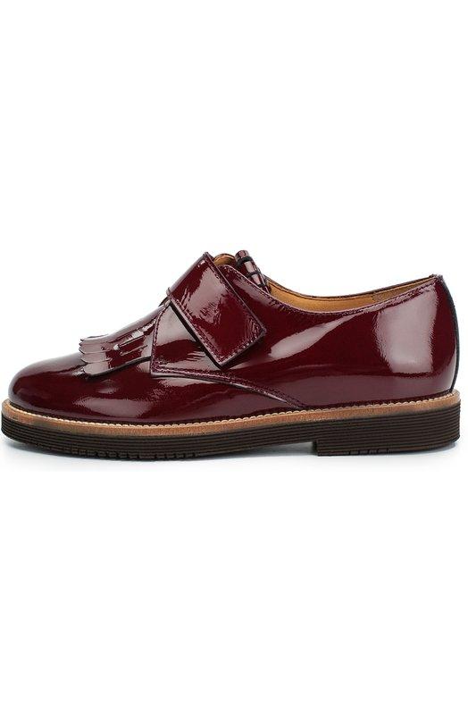 Лаковые туфли с бахромой Beberlis 19403-A/31-34