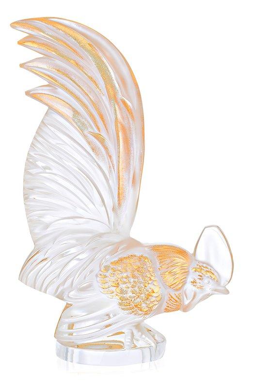 """Пресс-папье """"Петух"""" Bantam с позолотой Lalique 10548800"""