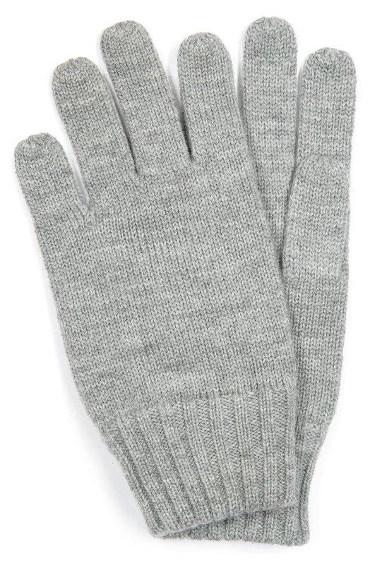 Шерстяные перчатки с вышивкой Polo Ralph Lauren B67/444F6/444F6
