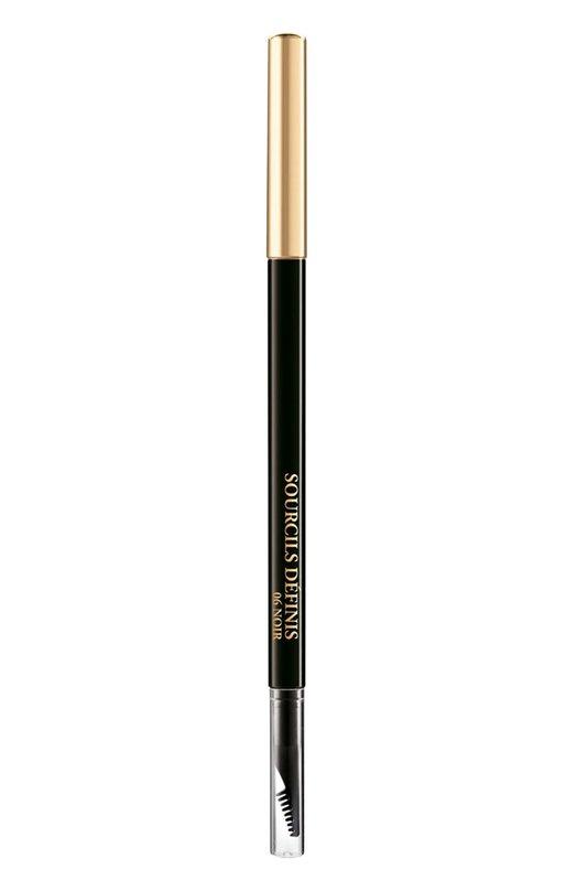 Карандаш для бровей Sourcils Definis, оттенок 06 Noir Lancome 3614271051059