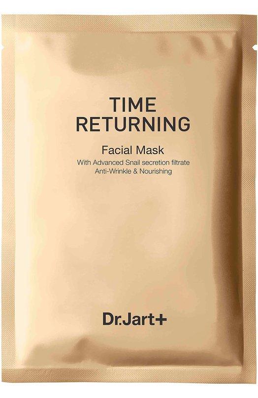 Антивозрастная маска с муцином улитки Time Returning Dr.Jart+Маски / Ампулы<br><br><br>Объем мл: 0<br>Пол: Женский<br>Возраст: Взрослый<br>Цвет: Бесцветный