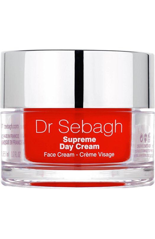 Восстанавливающий дневной крем глубокого действия Supreme Day Cream Dr.Sebagh