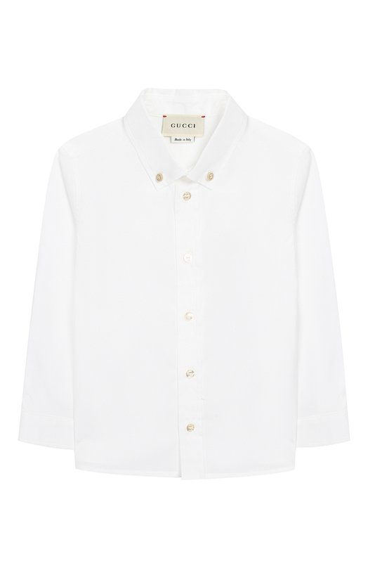 Рубашка с воротником button-down Gucci 430284/XB365
