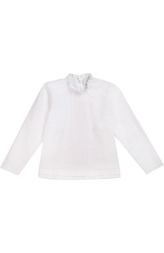 Блуза с воротником-стойкой Stella Jean JB728/PR0TEZI0NE/8A-14A