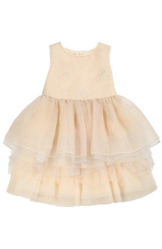 Многоярусное платье без рукавов I Pinco Pallino 1602101007/2-6