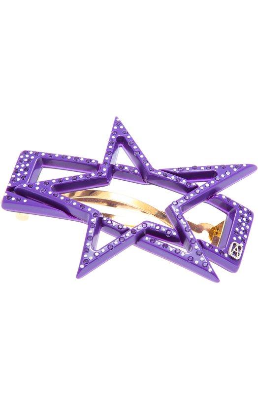 Заколка в виде звезды с кристаллами Swarovski Alexandre De Paris AA8-15736-02 L