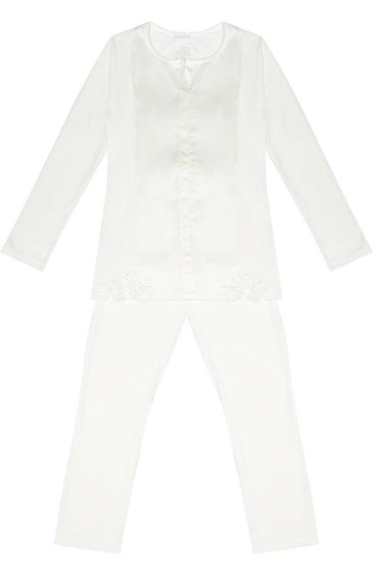 Пижама с кружевной отделкой La Perla 54001/8A-14A