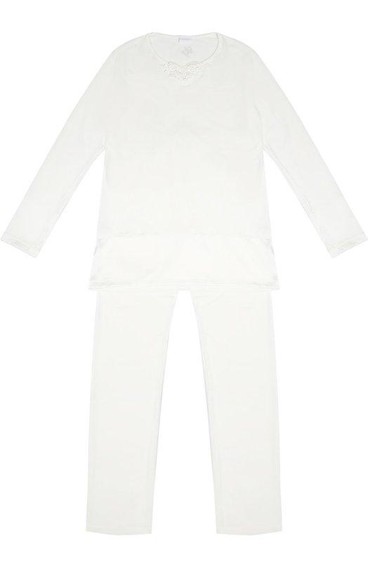 Пижама с кружевной отделкой La Perla 54041/8A-14A