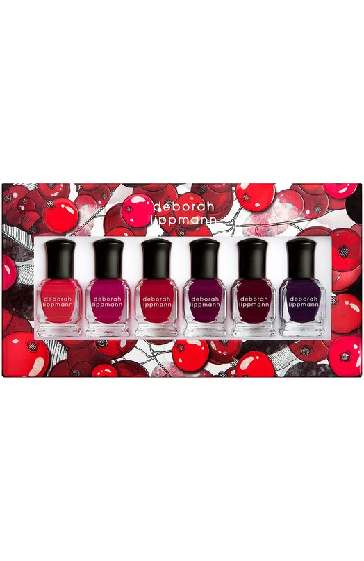 Набор лаков для ногтей Very Berry Deborah Lippmann 11362INT
